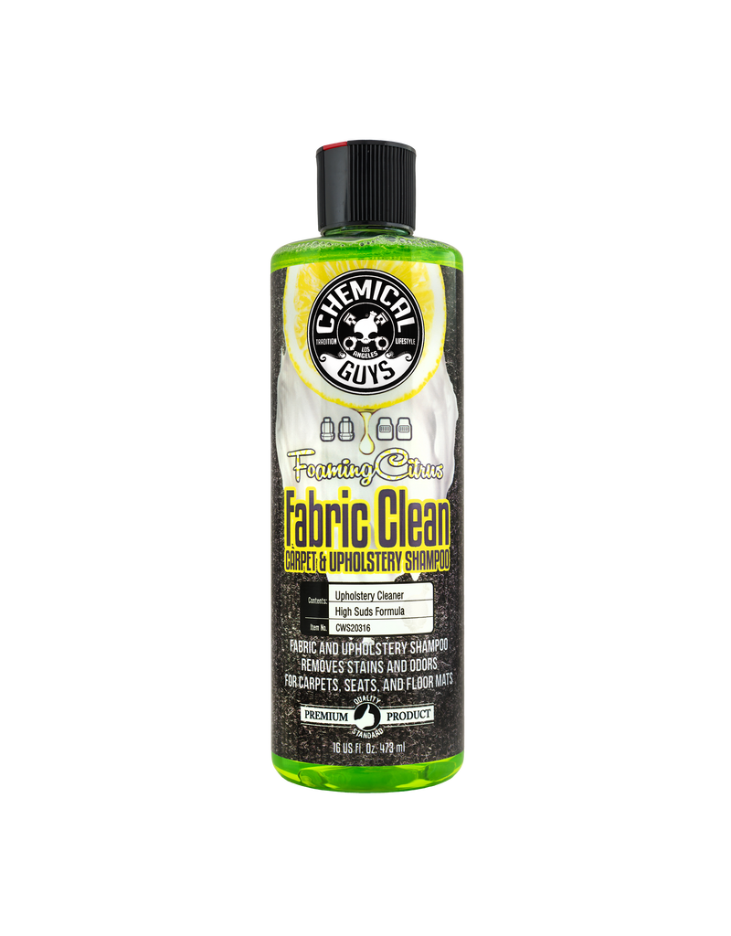 Chemical Guys Foaming Citrus Fabric Clean (16oz)