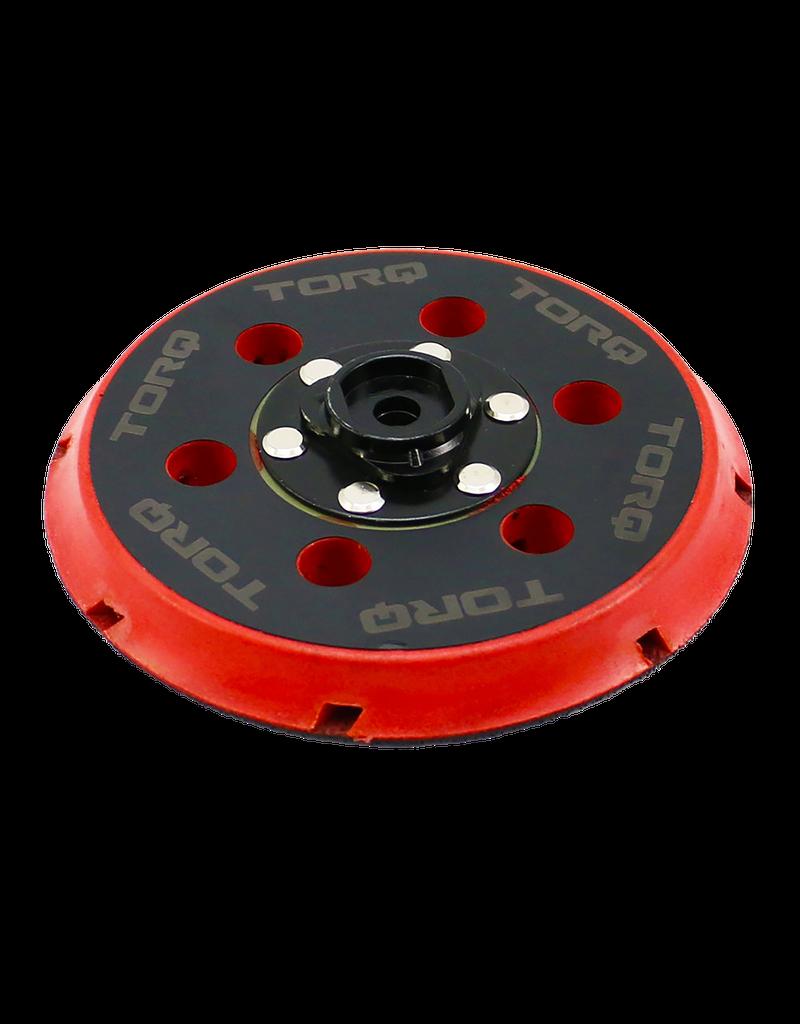 "TORQ Tool Company 6"" Backing Plate for TORQ22D machine"