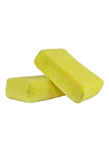 Chemical Guys Workhorse Premium Microfiber Applicator, Yellow