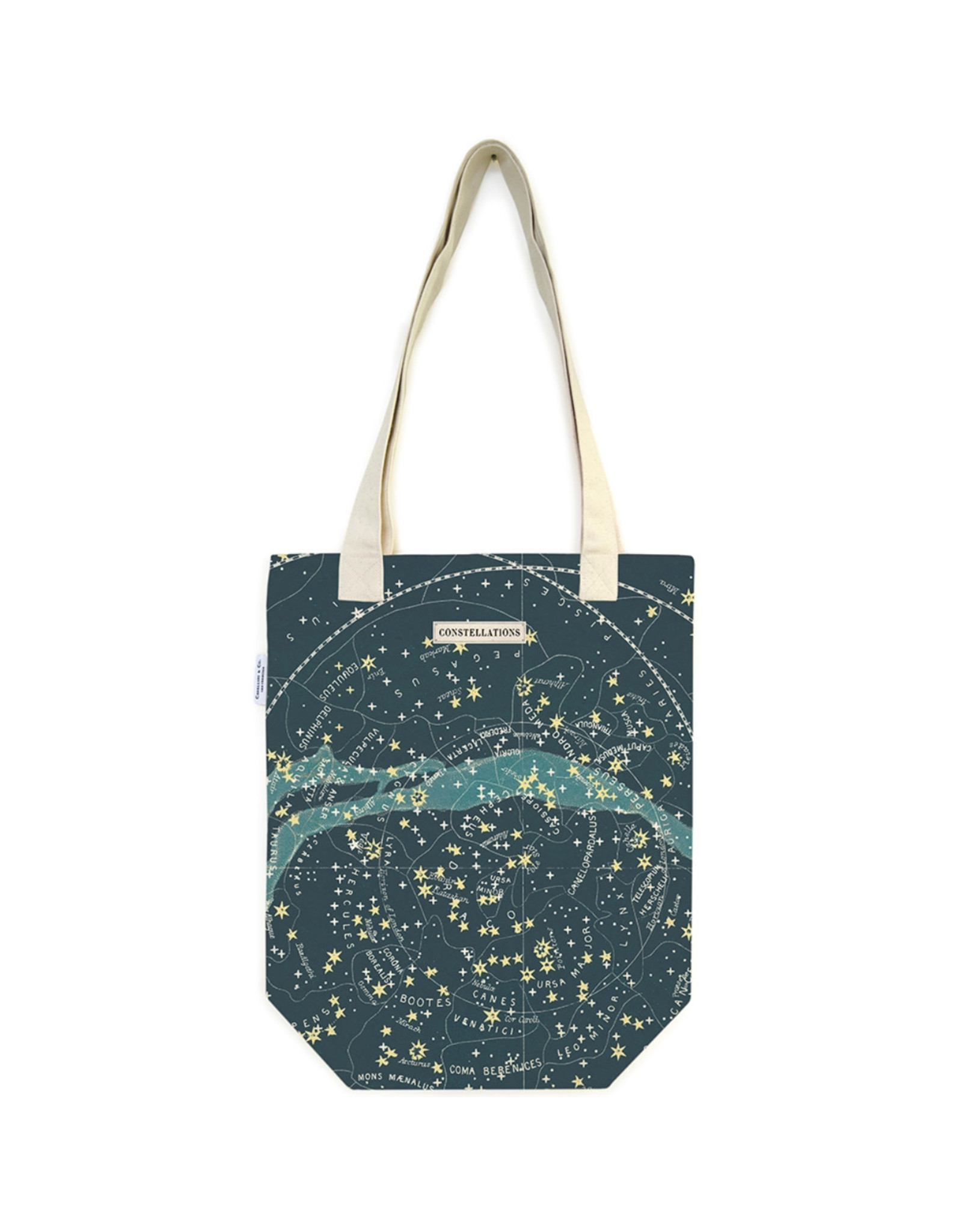 Cavallini Papers & Co. Celestial Tote Bag TB/CELEST
