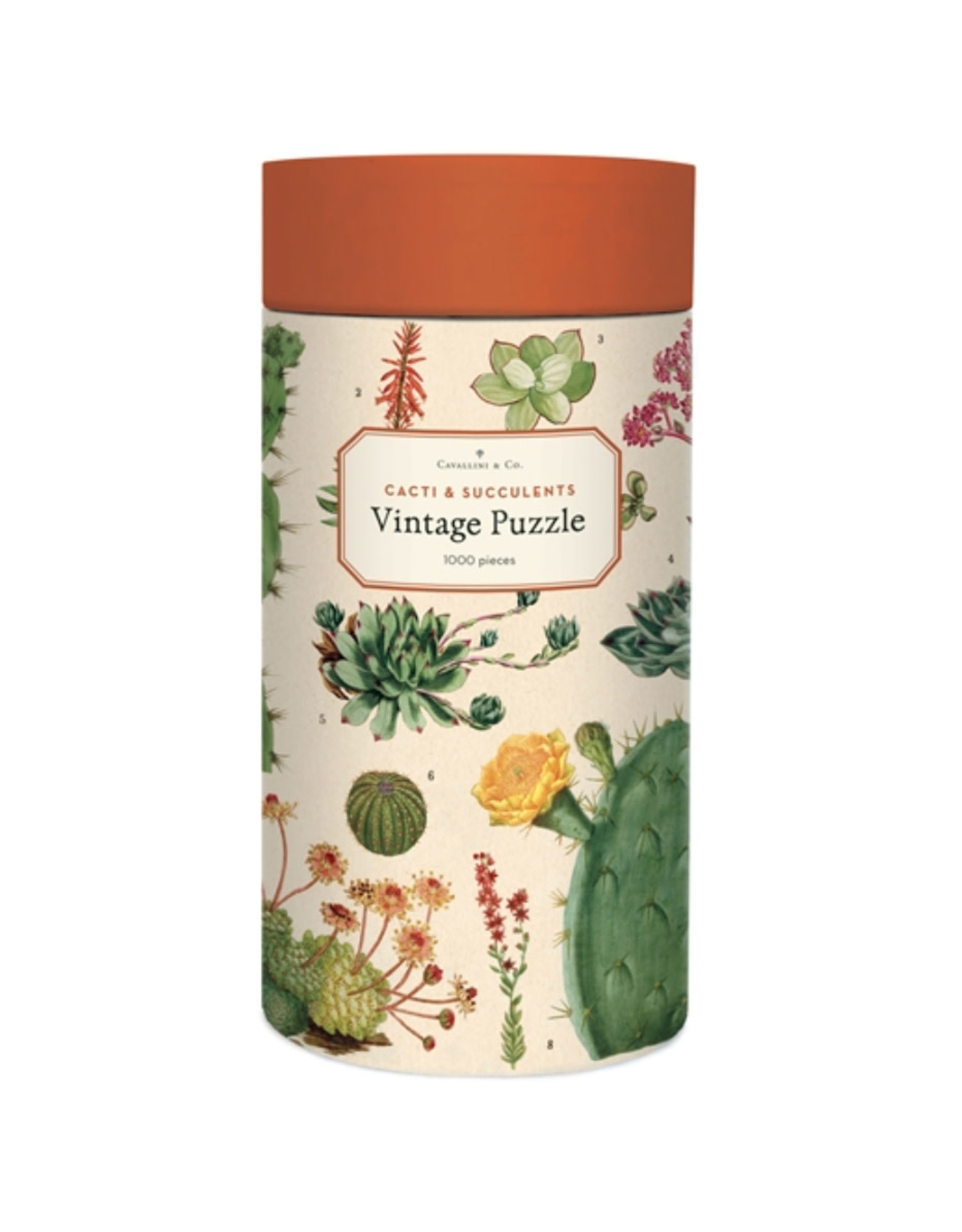 Cavallini Papers & Co. Cavallini Puzzle Cacti & Succulents 1,000 Pcs