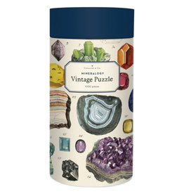 Cavallini Papers & Co. Cavallini Puzzle Mineralogy 1,000 Pcs