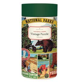 Cavallini Papers & Co. Cavallini Puzzle National Parks 1,000 Pcs