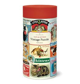 Cavallini Papers & Co. Cavallini Puzzle Cats & Kittens 1,000 Pcs