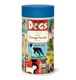 Cavallini Papers & Co. Cavallini Puzzle Dogs 1,000 Pcs