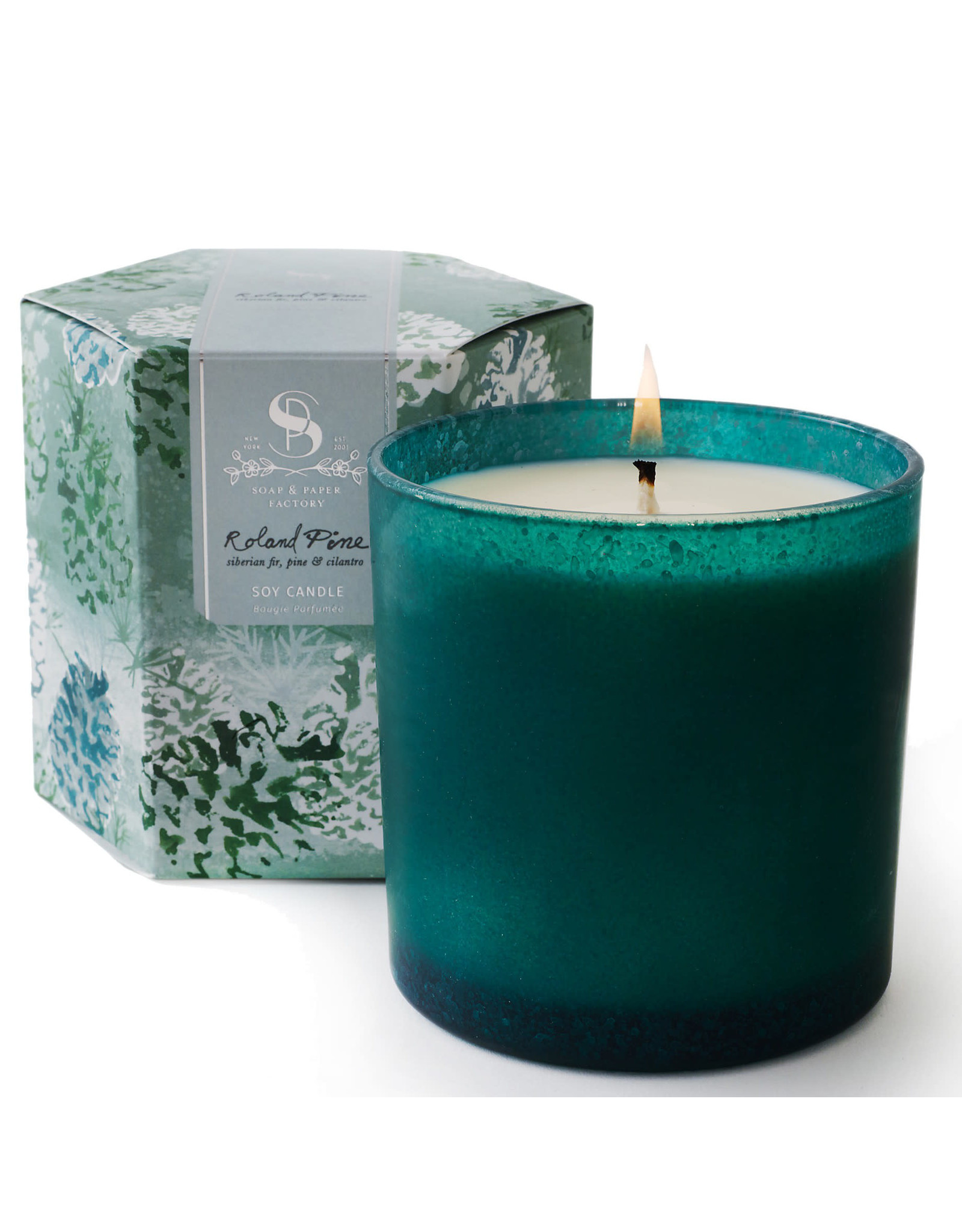 Soap & Paper Factory Roland Pine Artisan Soy Candle