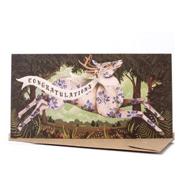 Hester & Cook Congratulations Deer Greeting Card
