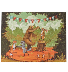 Hester & Cook Happy Birthday Party Greeting Card A2