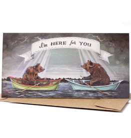 Hester & Cook I'm Here for You  Greeting Card A2