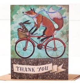 Hester & Cook Thank You Bicycle Greeting Card A2
