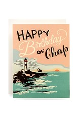 Antiquaria Lighthouse Birthday A2 Greeting Card