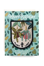 Antiquaria Plant Lady Birthday Patch Notecard