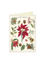Cavallini Papers & Co. Christmas Botanica Notecard