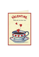 Cavallini Papers & Co. Cup of Tea Greeting Notecard