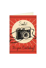 Cavallini Papers & Co. Birthday Camera Notecard