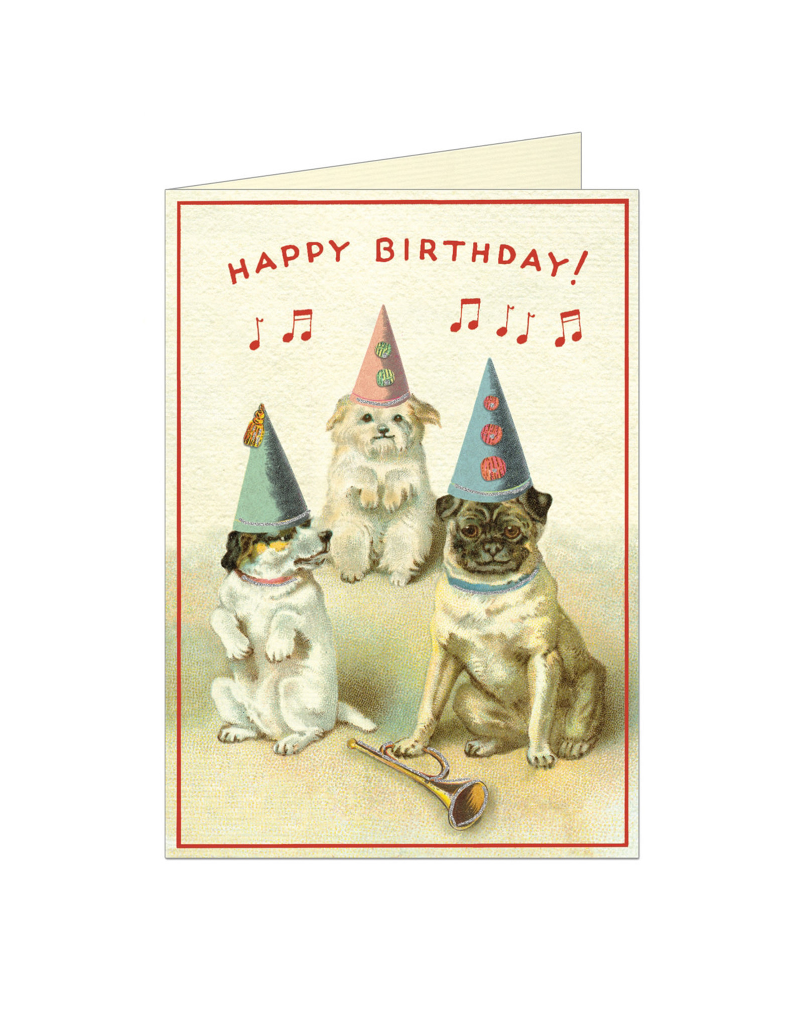 Cavallini Papers & Co. Birthday Dogs 2 Notecard