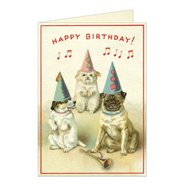Cavallini Papers & Co. Birthday Dogs 2 Brittany Notecard