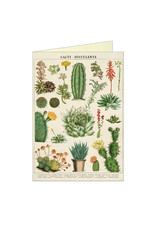 Cavallini Papers & Co. Cacti & Succulents Brittany Notecard