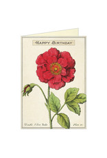 Cavallini Papers & Co. Birthday Rose Notecard