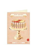 Cavallini Papers & Co. Birthday Cake Notecard