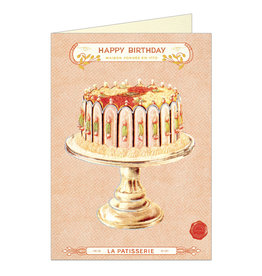 Cavallini Papers & Co. Birthday Cake Notecard