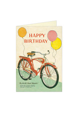 Cavallini Papers & Co. Birthday Bicycle Notecard
