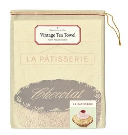Cavallini Papers & Co. La Patisserie Tea Towel