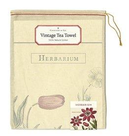 Cavallini Papers & Co. Herbarium Tea Towel