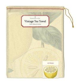 Cavallini Papers & Co. Citrus Tea Towel