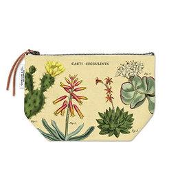 Cavallini Papers & Co. Cacti & Succulents Vintage Pouch