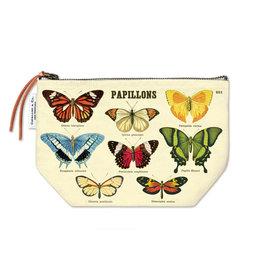 Cavallini Papers & Co. Butterflies Vintage Pouch