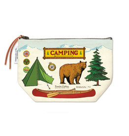 Cavallini Papers & Co. Camping Vintage Pouch
