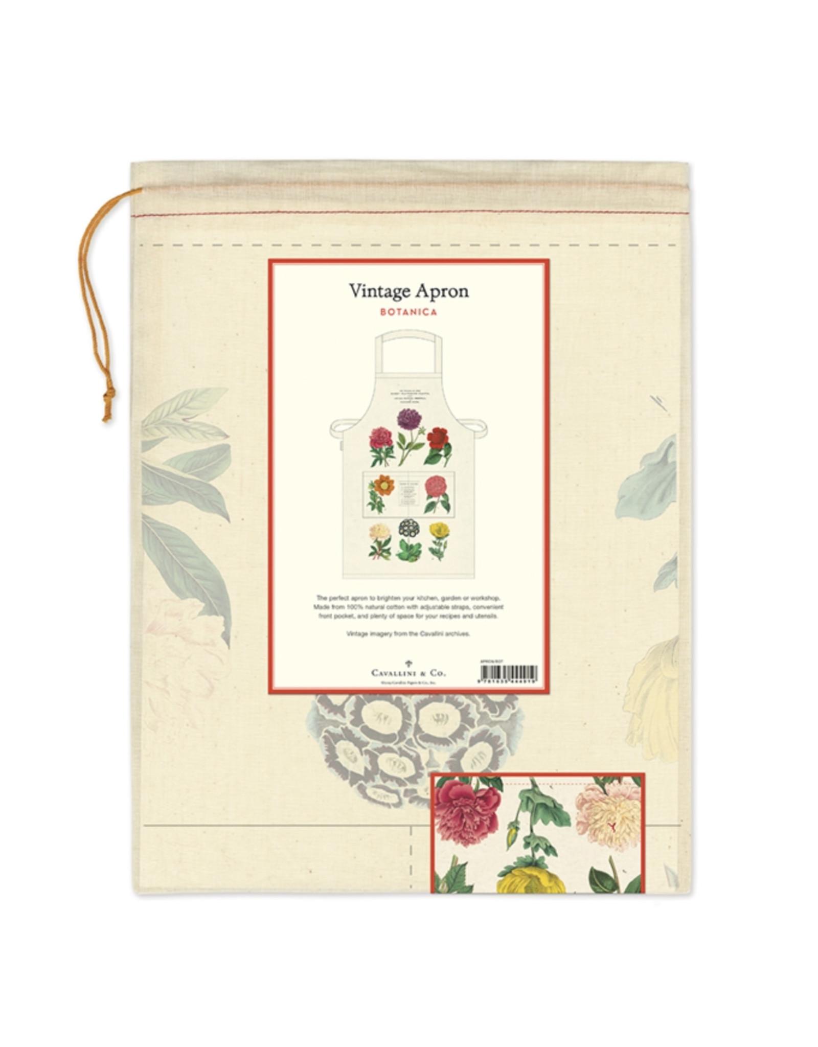 Cavallini Papers & Co. Botanica Vintage Apron
