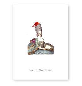 Tokyomilk Marie Christmas Greeting Card