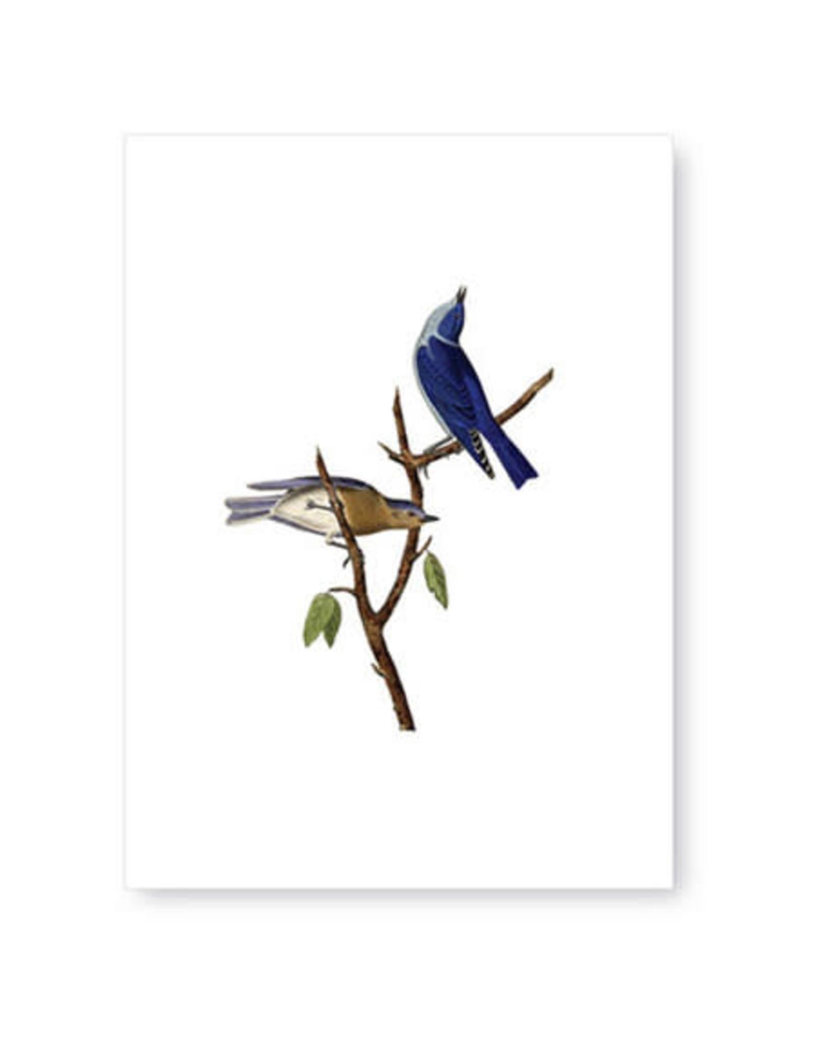 Tokyomilk Blue Birds Greeting Card
