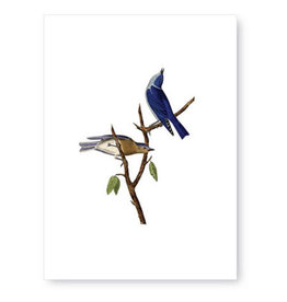 Tokyomilk Blue Birds Greeting Card