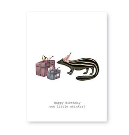 Tokyomilk Happy Birthday You Little Stinker Greeting Card