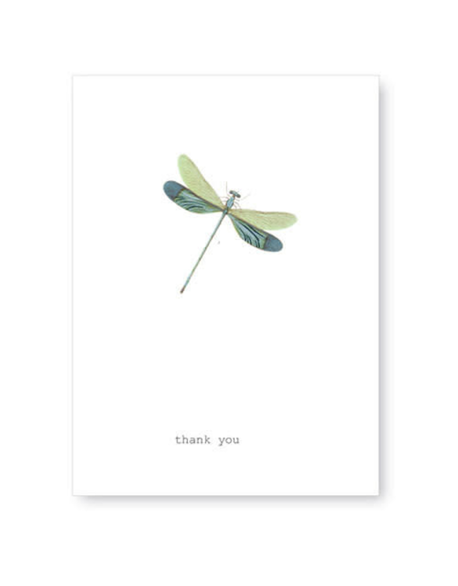 Tokyomilk Dragonfly Thank You Greeting Card