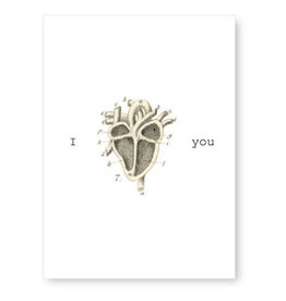 Tokyomilk I Heart You Greeting Card