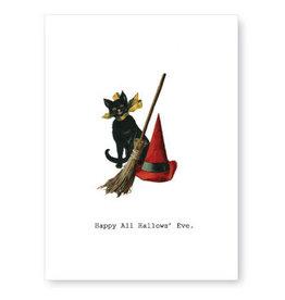 Tokyomilk Happy All Hallows' Eve Halloween Notecard