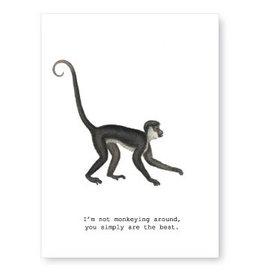 Tokyomilk Monkeying Around Greeting Card