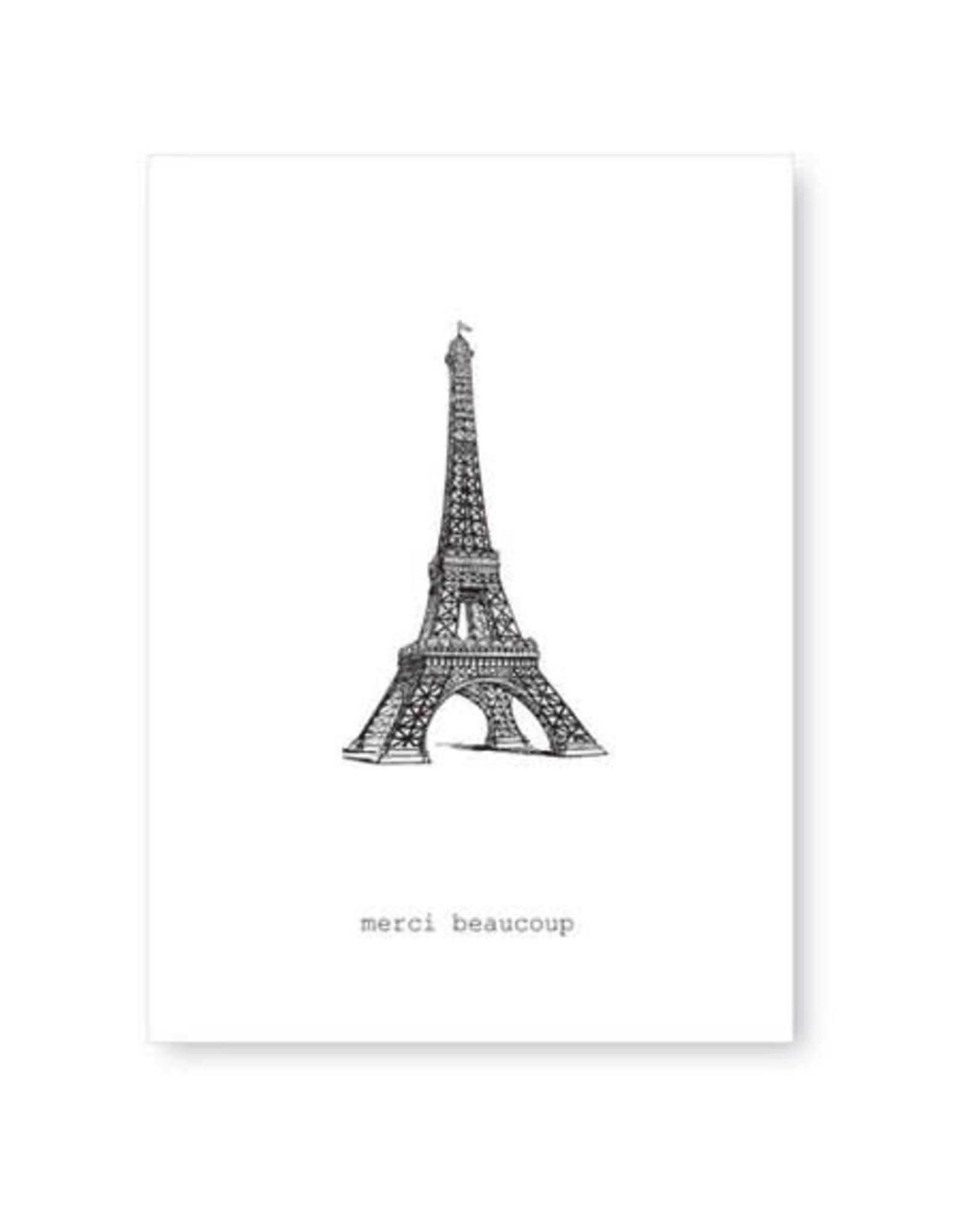 Tokyomilk Merci Beaucoup Greeting Card