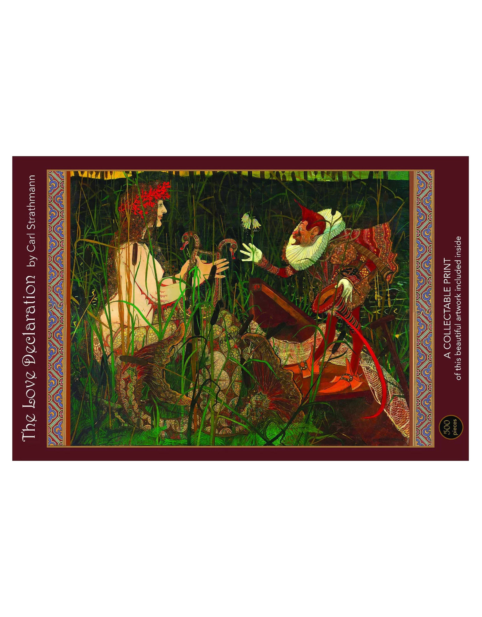 Art & Fable Puzzle Co. Love Declaration 500-Piece Puzzle