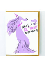 Hello!Lucky Blow Out Birthday A2 Notecard