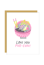 Hello!Lucky Pho Reals Love A2 Notecard