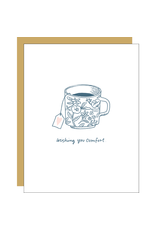 Hello!Lucky Comfort Tea Consolation A2 Notecard