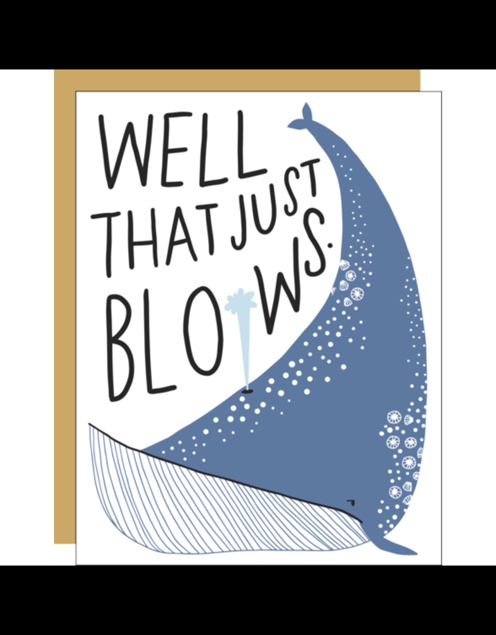 Hello!Lucky That Blows Consolation A2 Notecard