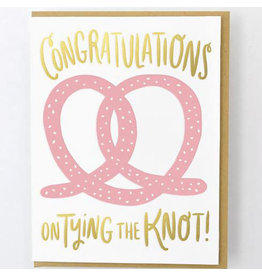 Hello!Lucky Tie the Knot Wedding A2 Notecard
