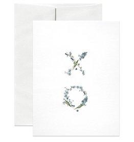 Open Sea Design Co. XO A2 Love Notecard