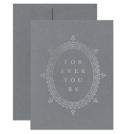 Open Sea Design Co. Forever Yours A2 Love Notecard